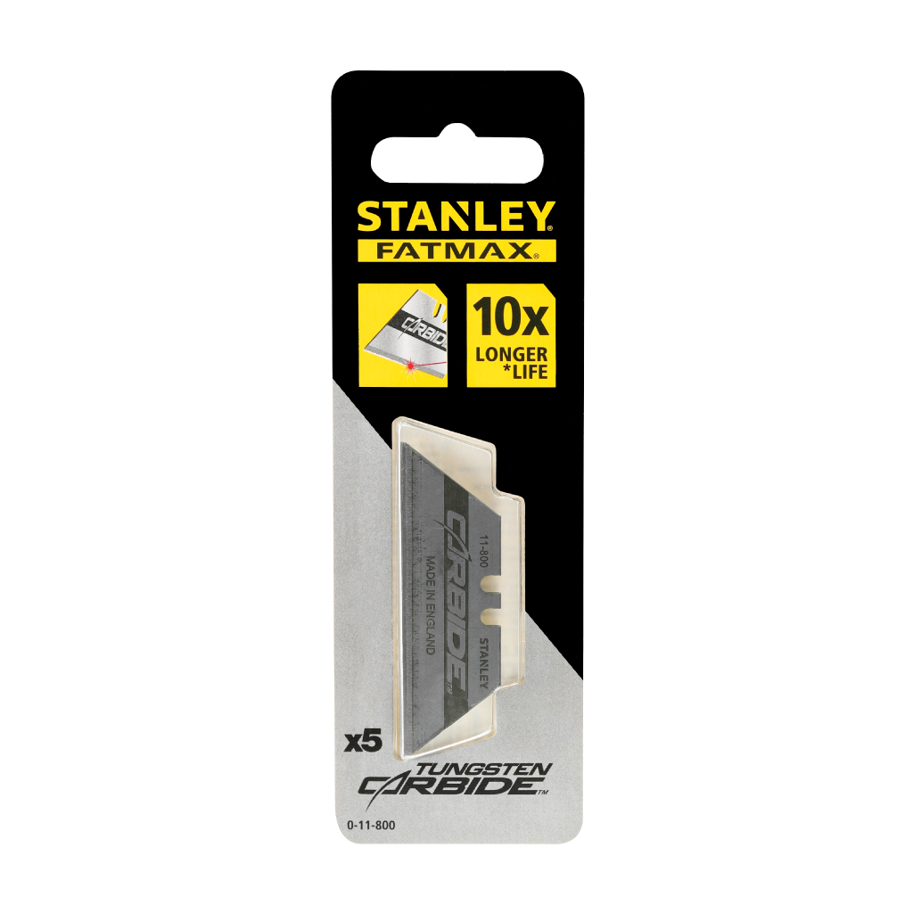 STANLEY REPLACEMENT BLADE TUNGSTEN CARBIDE | 5 PCE 11-800