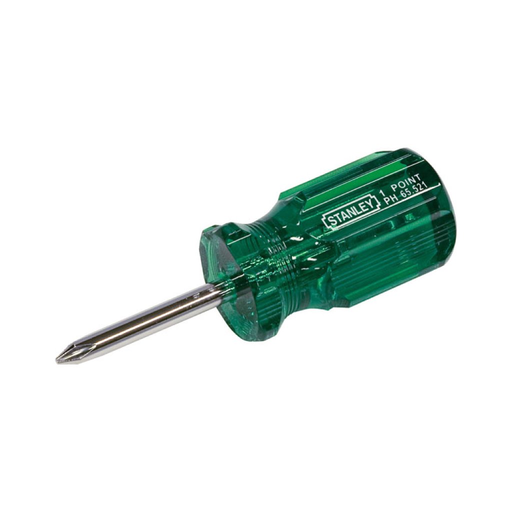 STANLEY SCREWDRIVER ACETATE PHILLIPS #1 | 38mm 65-521