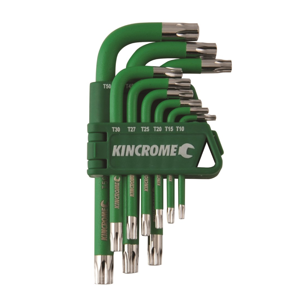 KINCROME TORX KEY SET | SHORT 9 PCE K5144