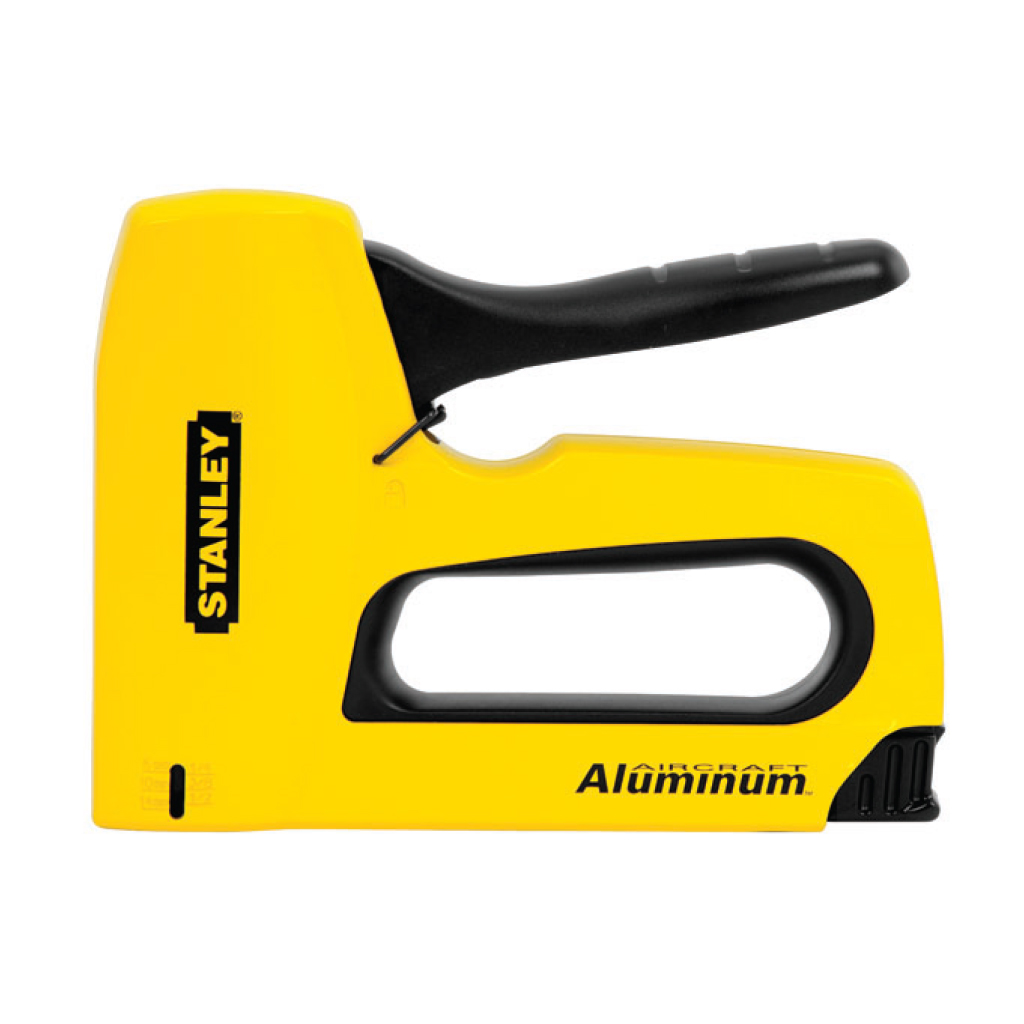 STANLEY HEAVY DUTY STAPLE GUN ALUMINIUM TR150