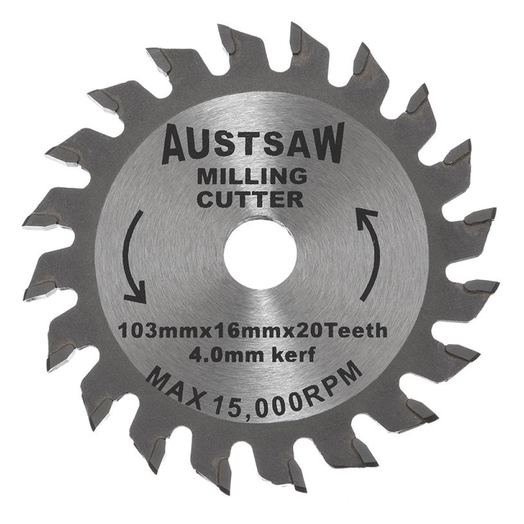 AUSTSAW MILLING CUTTER | 103mm x  4mm MC1031620