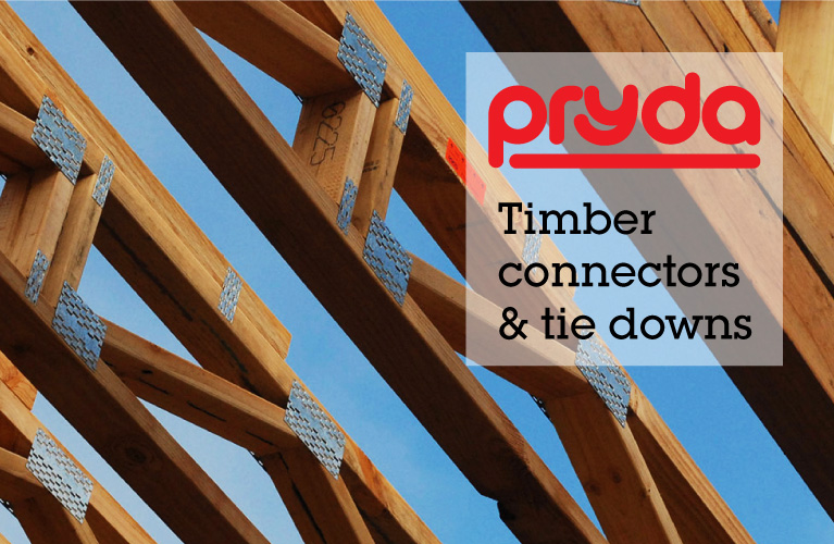 Pryda Timber Connectors